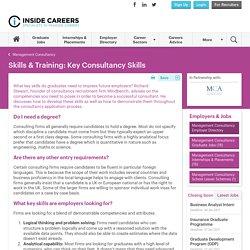 Key Consultancy Skills