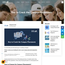 7 Key to Crack the Campus Placements
