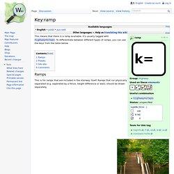 Key:ramp