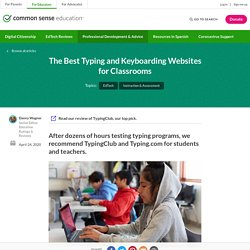 The Best Typing and Keyboarding Websites for Classrooms