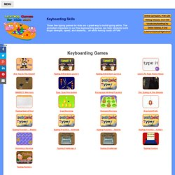 Keyboarding Games for Kids - Learning to Type Games for Kids