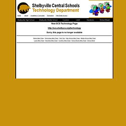 Keyboarding - Shelbyville Central Schools