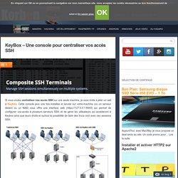 KeyBox - Une console pour centraliser vos accès SSH