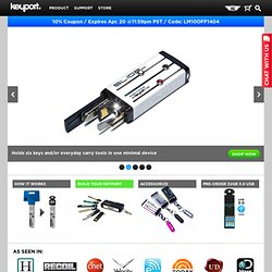 Replace Your Bulky Keychain - Keyport Slide and Blades | Keyport, Inc.