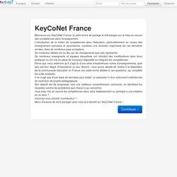 SITE KeyCoNet France (Ifé) : Travail par compétences dans les établissements