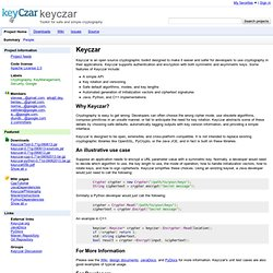 keyczar - Google Code