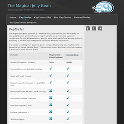 KeyFinder | Magical Jelly Bean