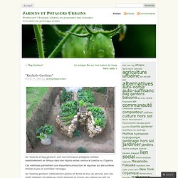 «Keyhole Gardens « «Jardins et Potagers Urbains