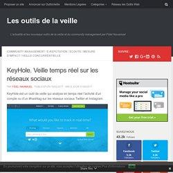 KeyHole. Veille temps réel sur les réseaux sociaux – Les outils de la veille