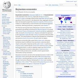 Keynesian economics - Wiki