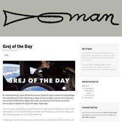 Keynote-mall för Grej of the Day - Tutman
