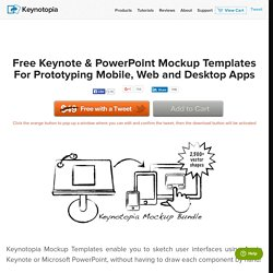Free Keynote Mockup Templates for iPhone, iPad, Android, ... - Keynotopia