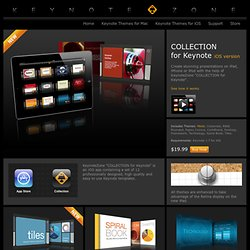 I Keynote Themes for iPad, iPhone, iPod - (Private Browsing)