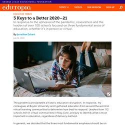 3 Keys to a Better K-12 School Year