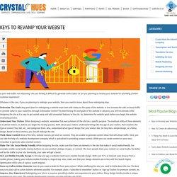 Keys to Revamp your Website