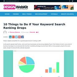 Keyword Search Ranking Optimization - 10 Things to Do