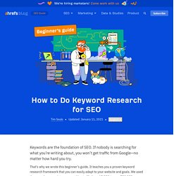 Keyword Research for SEO: Actionable Guide + Checklist