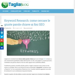 Keyword Research: come cercare le giuste parole chiave ai fini SEO