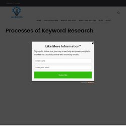 Keyword Research Processes That Will BOOST Your Content
