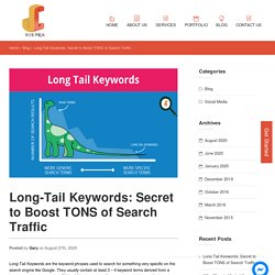 Long-Tail Keywords: Secret to Boost Your Organic Traffic