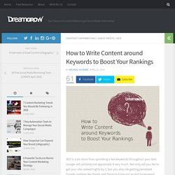 How to Write Content around Keywords to Boost Your Rankings - DreamGrow