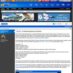 "16"" KFm4 wing, David (+ Free Plans)"