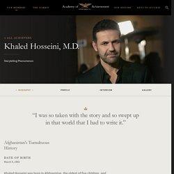 Khaled Hosseini, M.D.