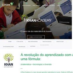 Khan Academy em português - Fundação Lemann