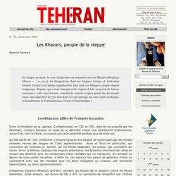 Les Khazars, peuple de la steppe
