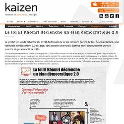 La loi El Khomri déclenche un élan démocratique 2.0