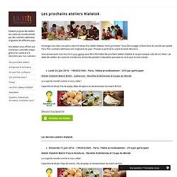ateliers et cours de cuisine du monde