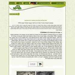 Kibbutz Beit Hashita האתר של קיבוץ בית השיטה - ארכיאולוגיה בשטחי בית השיטה