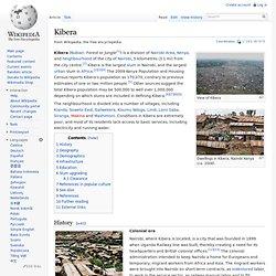 Kibera — Wikipédia (ang.)