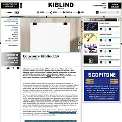 Concours Kiblind 50