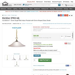 Kichler 2702-LQ 2702 Dover Pendant Light
