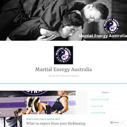 What to expect from your Kickboxing Classes in Sydney? – Martial Energy Australia