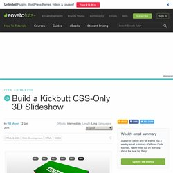 3D Slideshow (css3) by Nettuts+