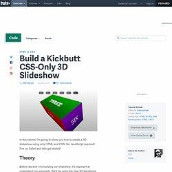 3D Slideshow (css3) by Nettuts+