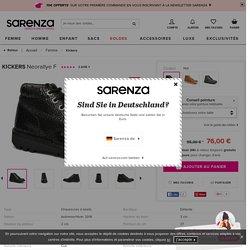 Kickers Neorallye F (Noir) - Chaussures à lacets chez Sarenza (263894)