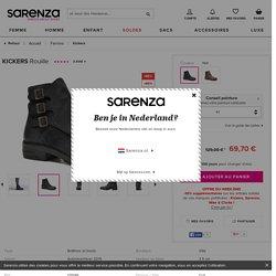 Kickers Rouille (Noir) - Bottines et boots chez Sarenza (234717)