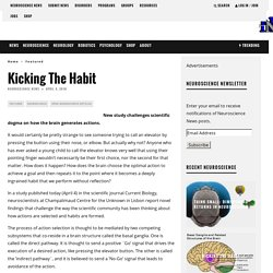 Kicking The Habit – Neuroscience News