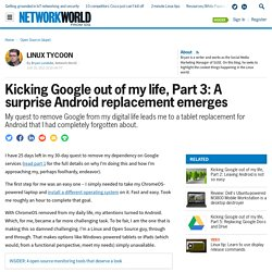 Kicking Google out of my life: A surprise Android replacement emerges