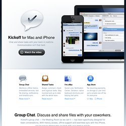 Collaboration tool for small groups - Kickoff