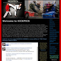 KICKPICS.net - Stace's Martial Arts Kicking Gallery