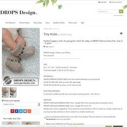 Tiny Kicks / DROPS Baby 33-24 - Free knitting patterns by DROPS Design