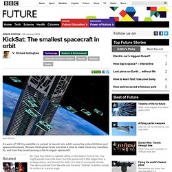 Technology - KickSat: The smallest spacecraft in orbit