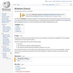 Kickstart (Linux)