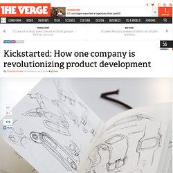 Kickstarted: How one company is revolutionizing product development