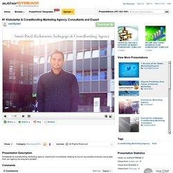 #1 Kickstarter & Crowdfunding Marketing Agency, Consultants And Ex..