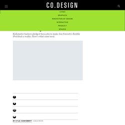 Life After Kickstarter: 5 Costly Lessons From A Kickstarter-Backed Designer